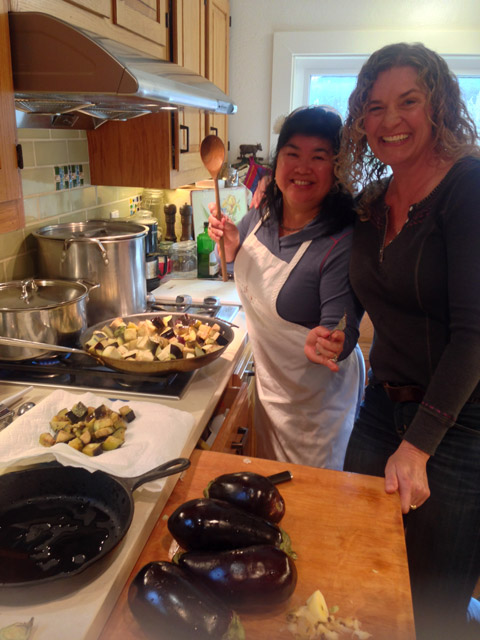 Wendy and Susie, antipasto duo