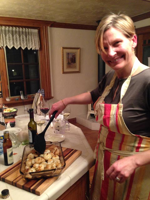 Alison looks forward to trying our marinated onions