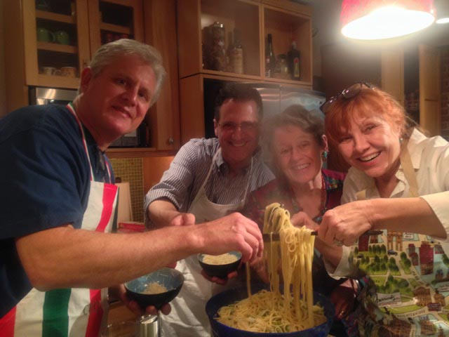 Joining Leslie, Ted (and guest, Mitch) to cook up Umbrian flavors