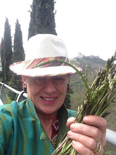 By the time I reached Assisi, quite a bunch...