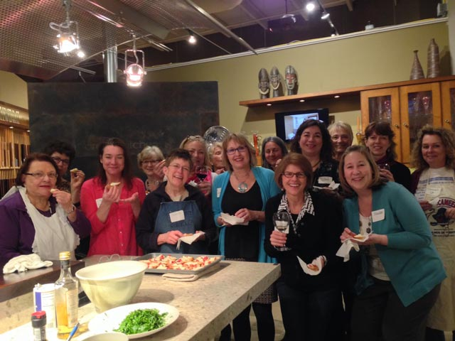 Madison professional women forge links in the kitchen