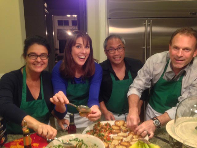 A birthday celebrated with cooking up Umbrian goodness