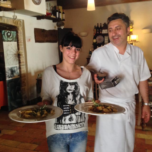 Serena and Domenico serve up the goodness