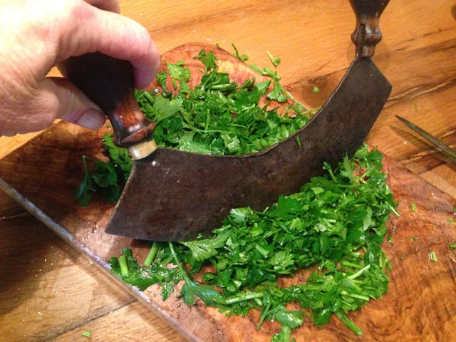 cutting-herbs