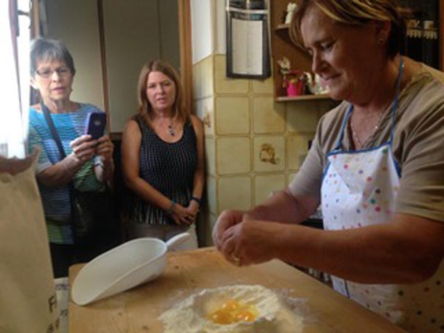 Rural Feasting Near Deruta: Homemade Pasta – and Not Only… 01 – 02