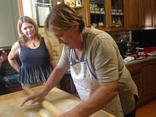 Rural Feasting Near Deruta: Homemade Pasta – and Not Only… 01 – 07