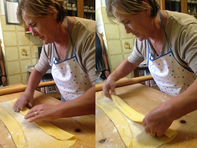 Rural Feasting Near Deruta: Homemade Pasta – and Not Only… 01 – 09