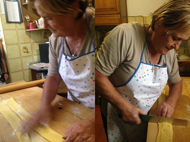 Rural Feasting Near Deruta: Homemade Pasta – and Not Only… 01 – 10