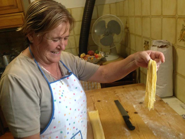 Rural Feasting Near Deruta: Homemade Pasta – and Not Only… 01 – 12