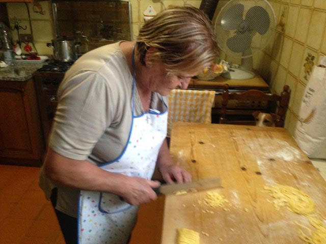 Rural Feasting Near Deruta: Homemade Pasta – and Not Only… 01 – 11