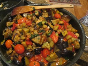Umbria recipes eggplant melanzane
