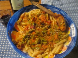 Umbria recipes pasta asparagus