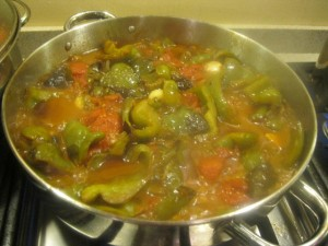 Umbria recipes peperonata peperoni