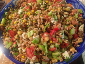 Umbria recipes Farro