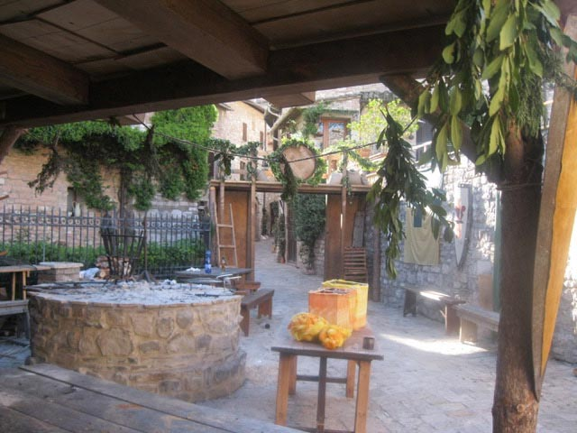 In Assisi, Calendimaggio In the Making – Without Gina 1 – 18