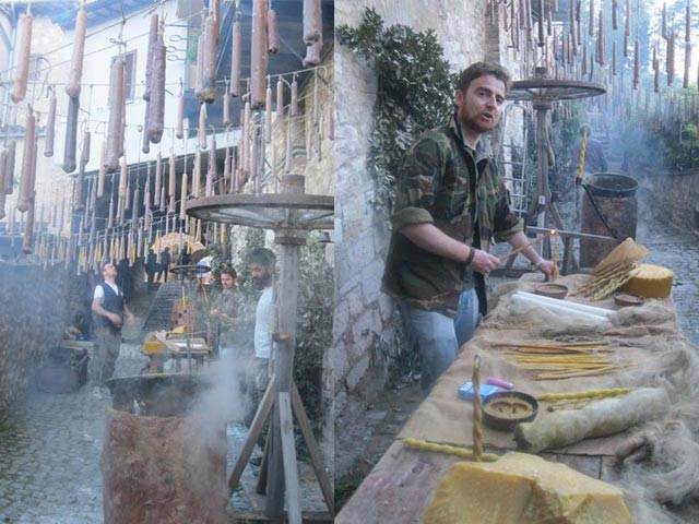 In Assisi, Calendimaggio In the Making – Without Gina 1 – 17