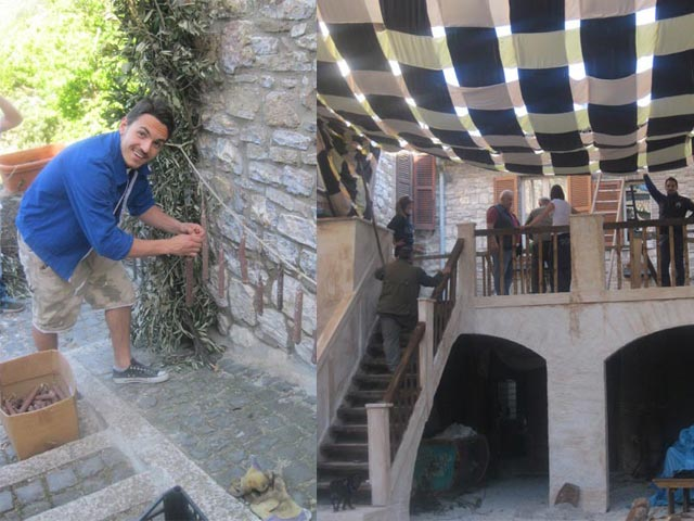 In Assisi, Calendimaggio In the Making – Without Gina 1 – 09