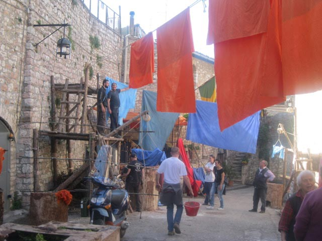 In Assisi, Calendimaggio In the Making – Without Gina 1 – 07