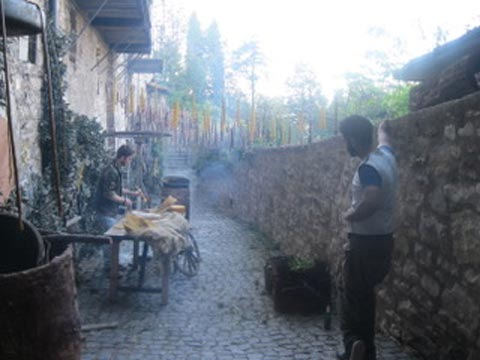 In Assisi, Calendimaggio In the Making – Without Gina 1 – 15