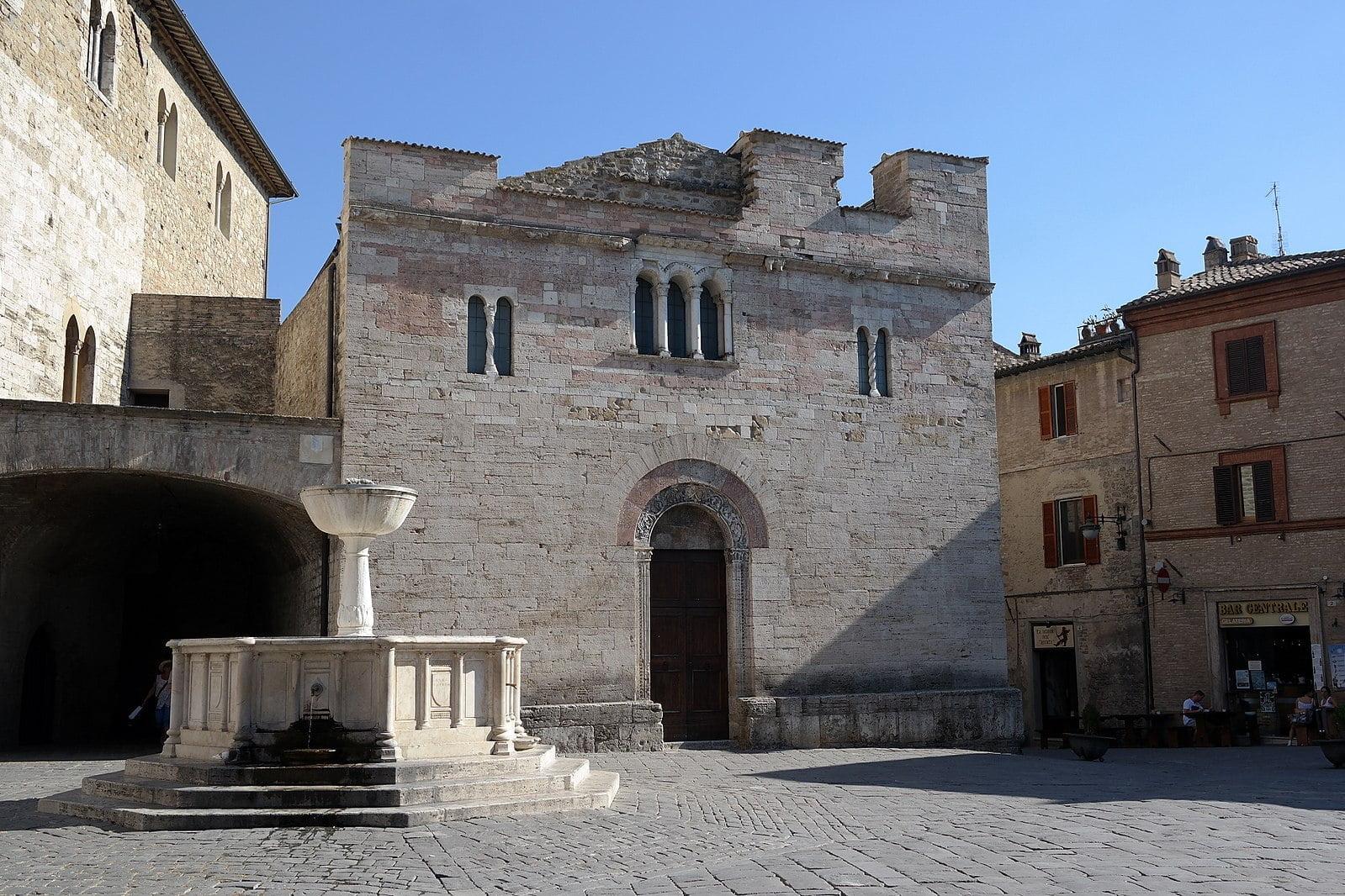 Bevagna's San Silvestro church