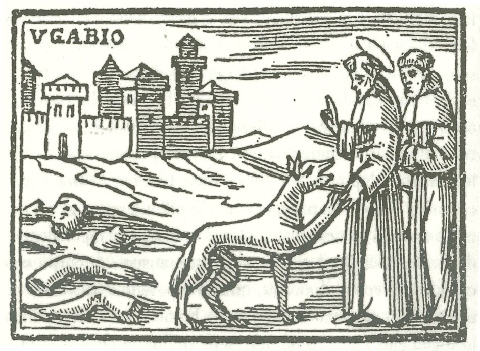 saint francis in gubbio
