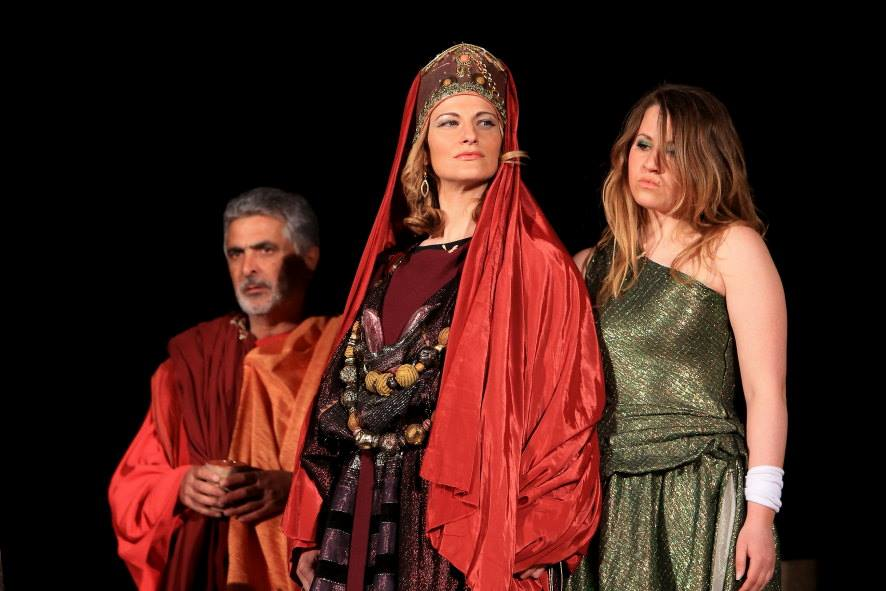 Medieval Passion Play in Fiamenga Foligno Umbria