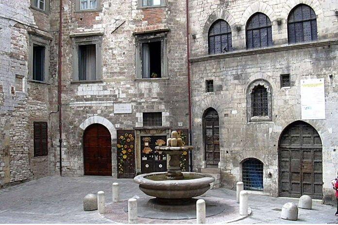 Doors for the Dead in gubbio umbria