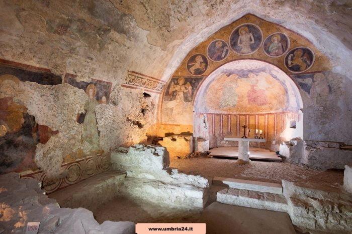 Narni's Underground chapel