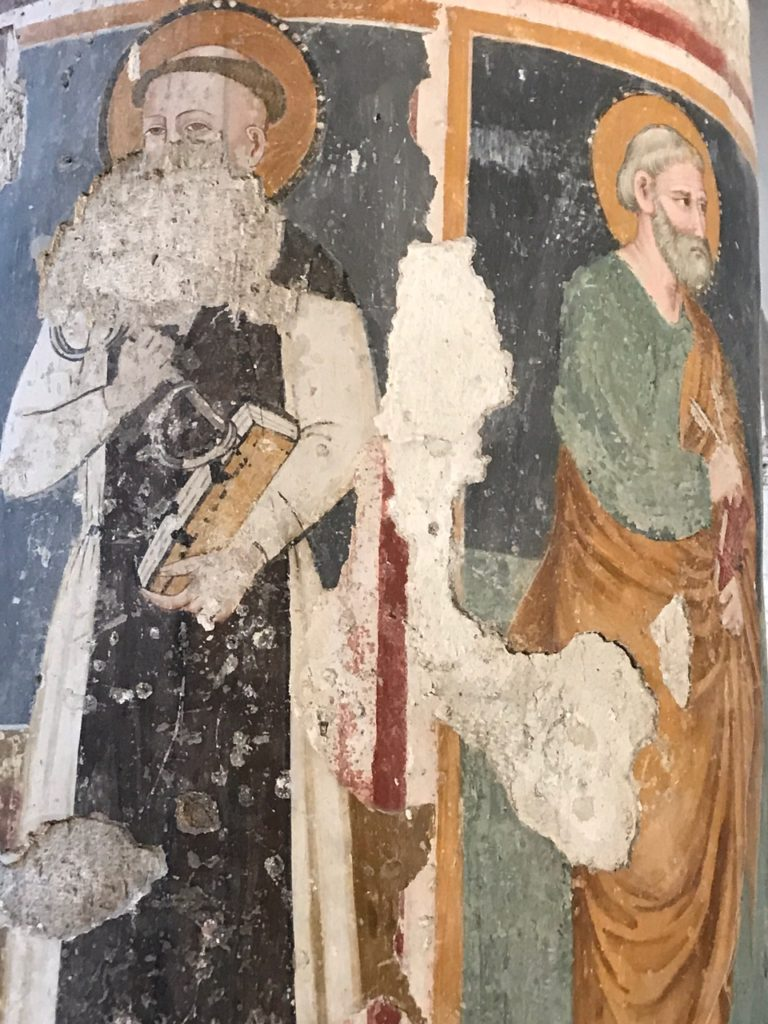 Church of San Francesco in Narni fresco